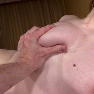 18 Year Old Ellie's Perfectly Cast Ass Swallows Cock ?