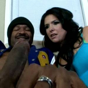 Blackcockreactions Love The Look On Her Face