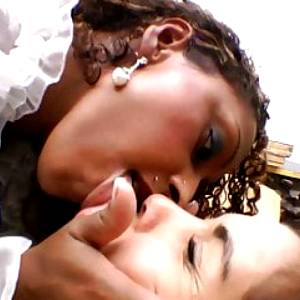 Brutal and Cruel Kissing with Suzan Black