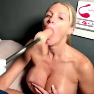 Brutal Facefuck By Strong Fucking Machine – Gagging & Tears! Happy Saturday Guys And Girls =) GIF By Bexxy Lynch