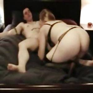 Cheating redhead housewife fucking the plumber.