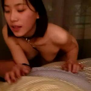 Chinese Babe Blowjob — But With Condom