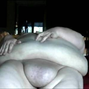 Chubby Babe Massages Big Belly
