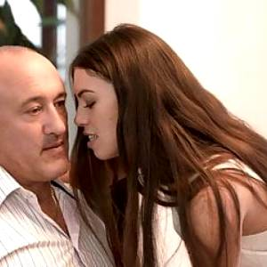 DADDY4K. Tiffany is left by boyfriend but she makes love to
