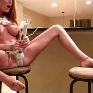 Delicious Redhead Babe with Big Tits Gets Filled Up with Cum