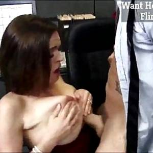 Horny MILF Fucking Young Cock