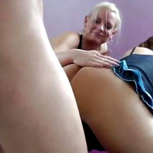 lucky tourist with big cock can't say no to two busty milf