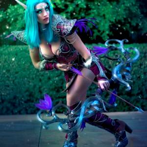 Night Elf Sentinel From World Of Warcraft – Made And Worn By AzuraCosplay