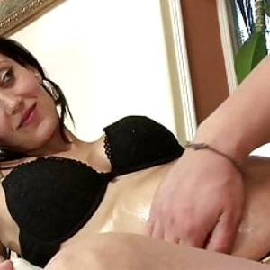 PREGNANT TEEN NEED MONEY AND SEDUCE TO FIRST PORN CASTING