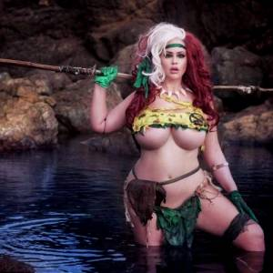 Savage Land Rogue From Marvel Comics By Stephanie Michelle