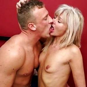 Skinny mature moms fucked by strong sons