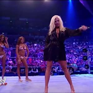 Torrie Wilson Grinding On Sable In A Bikini And Sticking Her Sucker In Her Mouth On WWE Smackdown