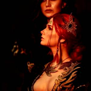 Triss And Yennifer By Christina And Torie