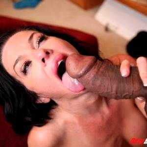 Veronica Avluv Pussy Stretching With A Fat Black Dick