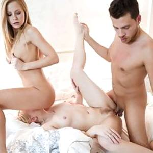 VipSexVault -Delicious Hot Teen Lola Taylor Loves It In 3way